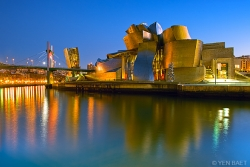 The Guggenheim Museum and La Salve Bridge